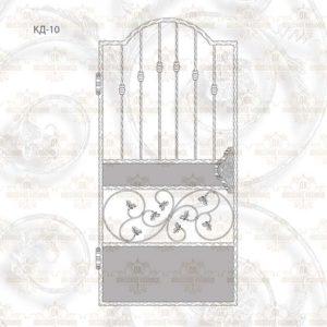 Кованая калитка КД-10 Размер ШхВ: 1000х1900