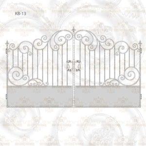 Кованые ворота КВ-13 Размер ШхВ: 3200х2000